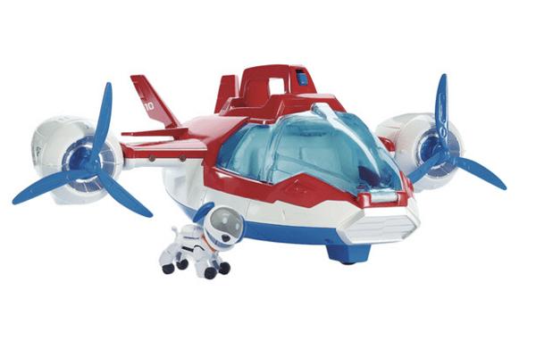 regalo para navidades avion patrulla canina