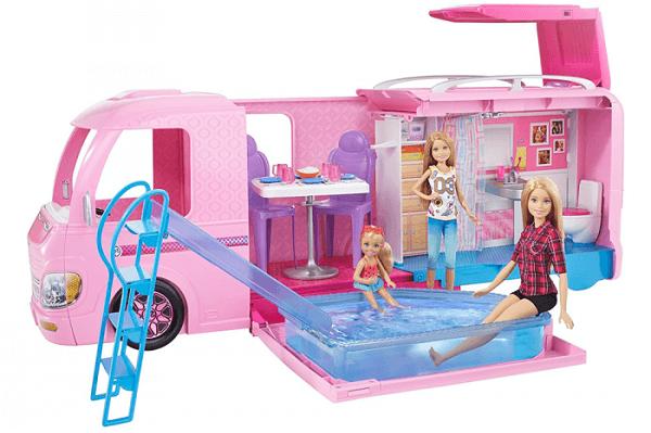 regalo para navidades para chicas barbie caravana