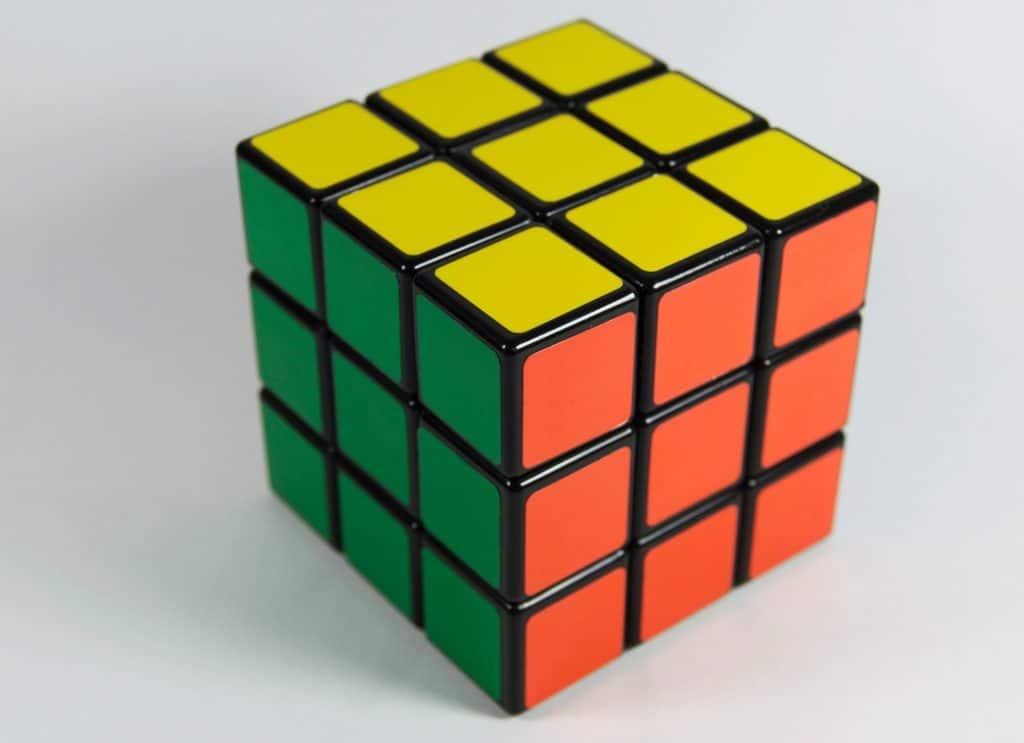 cubo rubik inteligencia