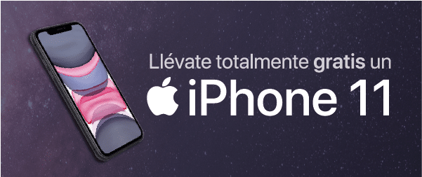 Llévate totalmente gratis un iPhone11