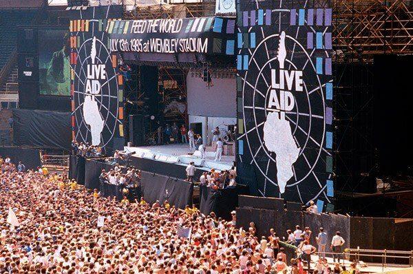 concierto benefico live aid 1985
